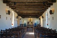 Intérieur de mission San Antonio le Texas de San Francisco de la espada Photographie stock libre de droits