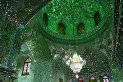 Intérieur de mosquée d'Imamaden Images libres de droits