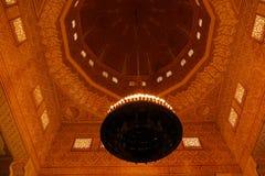 Intérieur de mosquée grande de Niamey à Niamey, Niger Photos libres de droits
