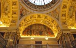 Intérieur de musée Photo libre de droits