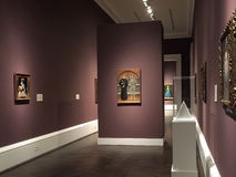 Intérieur de musée Dallas TX de prés images libres de droits
