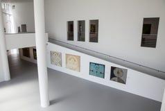 Intérieur de musée Danubiana, Bratislava - Slovaquie Photos libres de droits