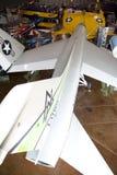 Intérieur de musée de vol de frontières Image stock