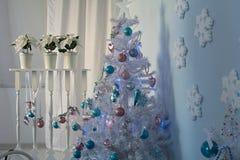 Intérieur de Noël Photos stock