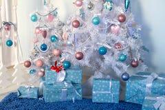 Intérieur de Noël Photos libres de droits