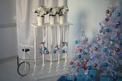 Intérieur de Noël Image stock