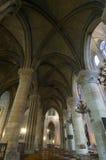 Intérieur de Notre Dame Images stock