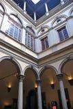 Intérieur de palais de Strozzi Images libres de droits