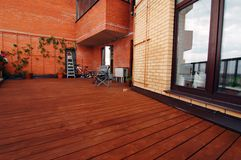 Intérieur de patio image libre de droits