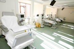 Intérieur de pièce d'hôpital Photo stock