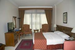 Intérieur de pièce d'une résidence hôtelière de service dans l'Inde image stock