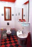 Intérieur de pièce moderne de bain photos stock