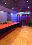 intérieur de réception d'hôtel du rendu 3D Photos libres de droits