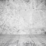Intérieur de résumé de pièce vide avec les murs blancs image stock