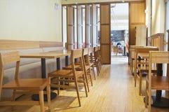 Intérieur de restaurant images stock