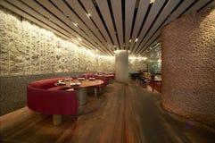 Intérieur de restaurant Photo libre de droits