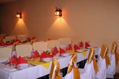 Intérieur de restaurant Photos stock