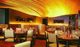 Intérieur de restaurant Photographie stock