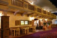 Intérieur de restaurant Photographie stock libre de droits