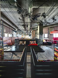 Intérieur de restaurant mexicain Photo libre de droits