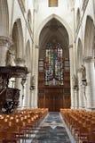 Intérieur de saint Walburga d'église Images libres de droits