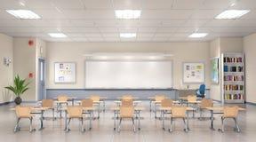 Intérieur de salle de classe Photos libres de droits