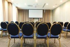 Intérieur de salle de conférences moderne dans l'hôtel Photos stock