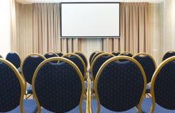 Intérieur de salle de conférences moderne dans l'hôtel Image libre de droits