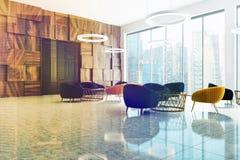 Intérieur de salle d'attente de bureau modifié la tonalité Photos libres de droits