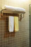 Intérieur de salle de bains d'hôtel Image libre de droits