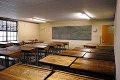 Intérieur de salle de classe Photos stock