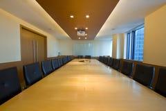 Intérieur de salle du conseil d'administration Image stock