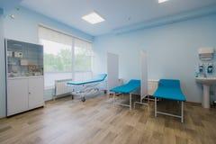Intérieur de secteur de rétablissement chirurgical dans l'hôpital photos libres de droits