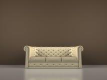 Intérieur de sofa Images libres de droits