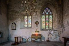 Intérieur de St Mary Cathedral Photos libres de droits