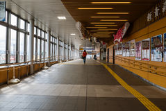 Intérieur de station d'Aomori Photo libre de droits