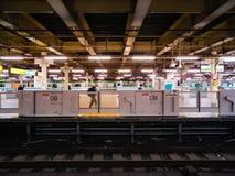 Intérieur de station d'Ueno le 1er novembre 2018 photos stock