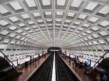 Intérieur de station de métro de cercle de Dupont Photos stock