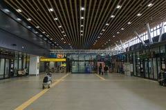 Intérieur de station de Shin-Hakodate-Hokuto Images libres de droits
