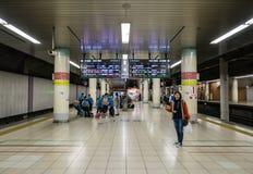 Intérieur de station de train de Tokyo images stock
