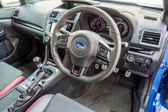 Intérieur de STI 2017 de Subaru WRX Image stock