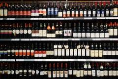 Intérieur de supermarché Images stock