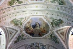 Intérieur de temple Image stock