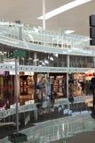 Intérieur de terminal d'aéroport de Barcelone. Espagne Photos libres de droits