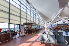 Intérieur de terminal de Lech Walesa Airport Image stock