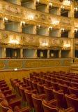Intérieur de théâtre de Fenice de La, images libres de droits