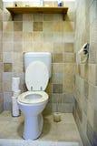 Intérieur de toilette Images stock