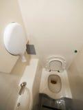 Intérieur de toilette portative Photo libre de droits