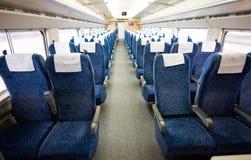 Intérieur de train photo libre de droits