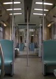 Intérieur de train Photos libres de droits